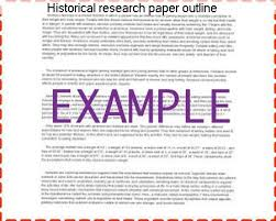 how to make research paper outline historical research paper outline custom paper writing service