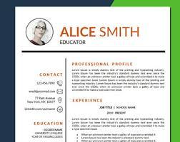 Principal Resume Template Principal Resume Etsy
