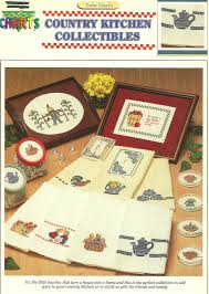 Kitchen Collectibles Color Charts Cross Stitch Pattern 22 Listings