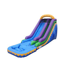 Water Slide Backyard by Sunrise Bouncer Jumper Bounce House Castle Castle House Water