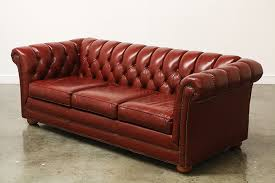 Chesterfield Sofa Los Angeles Vintage Tufted Leather Chesterfield Sofa Vintage Supply Store