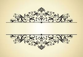 patterns and designs border vector designs vector vintage