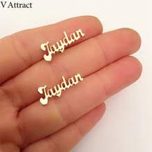 Custom Name Earrings Online Get Cheap Custom Name Earrings Aliexpress Com Alibaba Group