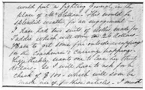 mary todd lincoln letter to her husband page 2