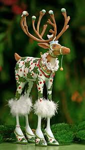 patience brewster reindeer figurines