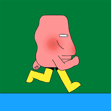 how to layer gifs on my way running gif by igor bastidas find share on giphy