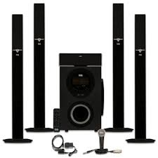 home theater audio acoustic audio aat3003 tower 5 1 home theater bluetooth speaker