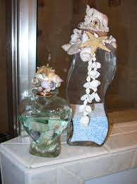 ideas for bathroom decorating theme with natural seashells