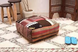 Ottoman Pillow Abstact Ottoman Moroccan Square Pouf 24 Ottoman Pillow Berber
