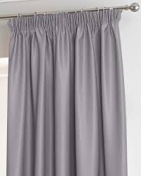 grey herringbone chevron thermal blackout curtains pair pencil