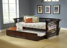 Modern Daybed With Trundle Bedroom Solid Wood Daybed With Trundle Daybed Sofa Couch U201a Wooden