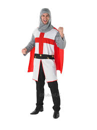 noble knight fancy dress costume medieval crusader lord