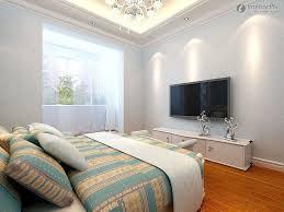 mounted tv in bedroom