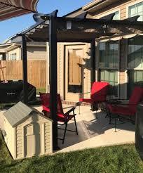 Decks And Pergolas Construction Manual by Better Homes And Gardens Meritmoor Aluminum Steel Pergola With