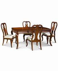Queen Anne Dining Room Furniture by Bordeaux 5 Piece Dining Room Furniture Set Created For Macy U0027s