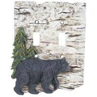 bear light switch covers rustic light switch covers switch plates rustic outlet covers