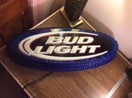 bud light light up sign bud light budweiser beer bottle cap light up sign game room ebay
