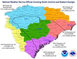 Map Of South Carolina Counties Office Info