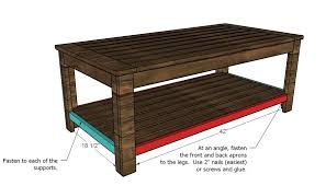 Woodworking Plans Coffee Table Legs by Ana White Build An Outdoor Coffee Table Hamptons Outdoor Table
