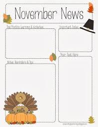 free preschool newsletter templates sample preschool newsletter 5