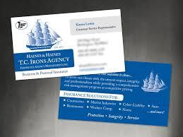 Marine Business Cards Business Cards Burlington Press