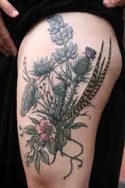 tattoos alice carrier botanical tattoo wonderland tattoo