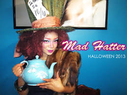 temporary hair color for halloween my mad hatter make up u0026 hair tutorial youtube