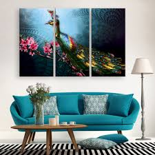 compare prices on peacock painting on canvas online shopping buy