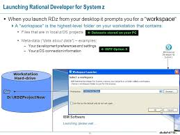 online xpeditor tutorial introduction to rational developer for system z for ispf developers