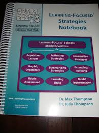 the learning focused notebook connecting strategies planning for