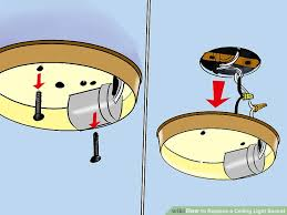 Ceiling Light Sockets How To Replace A Ceiling Light Socket 13 Steps With Pictures