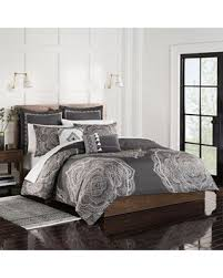 charcoal bedding amazing deal on shalini king duvet set in charcoal