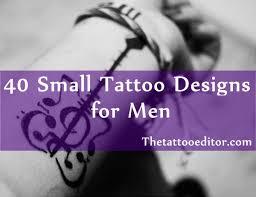 small tattoo designs for men jpg