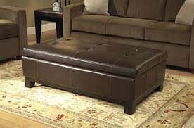 Large Ottoman Coffee Table Large Leather Ottoman Coffee Table