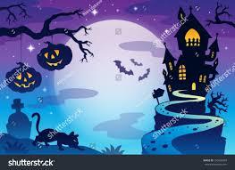 halloween graphic background halloween topic background 3 eps10 vector stock vector 150626609