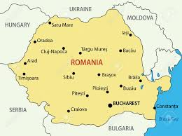 Map Of Romania Romania Vector Map Royalty Free Cliparts Vectors And Stock