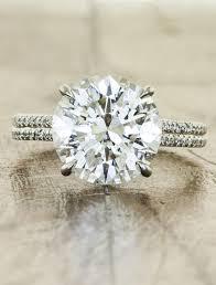 diamond double rings images Hana 3 0 ct round diamond micropave double band ken dana design jpg