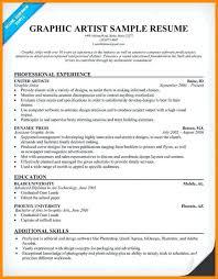 art resume sample artist resume sample writing guide resume