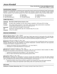 Sample Resume For Back Office Executive by Example Mis Manager Resume Sample