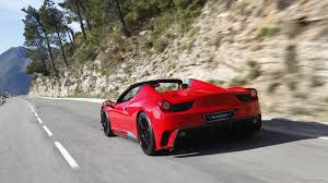 ferrari 458 wallpaper mansory ferrari 458 spider monaco edition 2012 rear hd