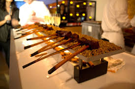 food wine best new chefs event at the 575 guest gathering at