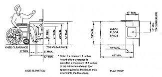 Sink Floor Plan Ada Bathroom Sink Cabinet Sinks And Faucets Gallery