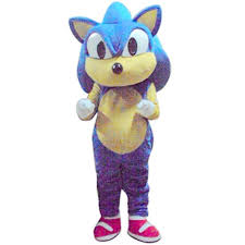 sonic the hedgehog video game mascot costume halloween party