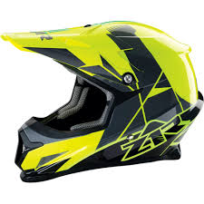yellow motocross helmet z1r rise graphic mens off road dirt bike dot snowmobile motocross
