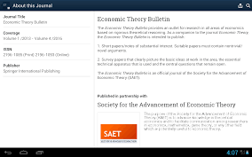 economic theory android apps on google play