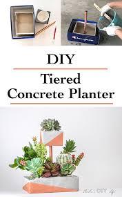 Concrete Planter Tiered Diy Concrete Planter With Copper Pipe Anika U0027s Diy Life