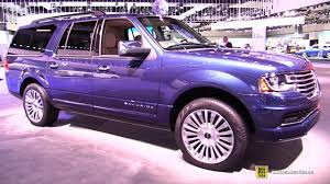 Lincoln Navigator 2015 Interior 2017 Lincoln Navigator Select Exterior And Interior Walkaround