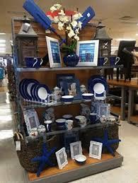 beach coastal themed merchandise display home decor tj maxx