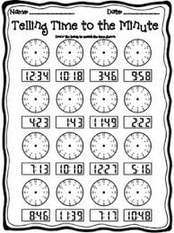 second grade time worksheets 84 best telling time images on teaching math teaching