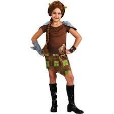 shrek 4 fiona warrior child halloween costume walmart